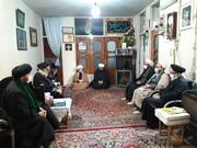 مدیر حوزه علمیه تهران به دیدار باسابقه ترین امام جمعه کشور رفت