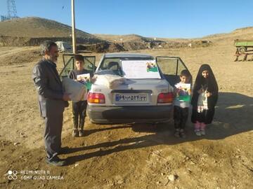 توزیع ۱۰ هزار قرص نان بین روستاییان بیجار به نیابت از سردار دل ها