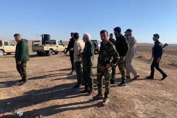استقرار نیرو های حشد الشعبی در مسیر بغداد برای تأمین امنیت