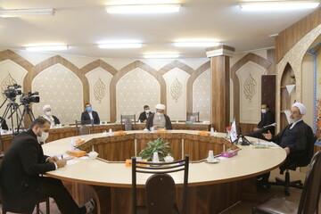 تصاویر/ سلسله نشستهای تبیین بیانیه گام دوم انقلاب با حضور آیت الله اعرافی