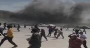 یمن میں ہوائی اڈے پر حملہ، 25 افراد ہلاک، 100 زخمی