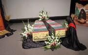 تصاویر/ وداع بانوان سمنانی با شهدای گمنام دوران دفاع مقدس