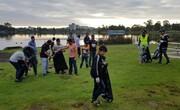 آغاز تمیزکاری سال نو پارکها در اوکلند توسط جامعه اسلامی