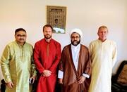 مرد استرالیایی در حضور امام جمعه کانبرا به دین اسلام مشرف شد