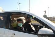 تصاویر/ کاروان خودرویی در شهر سنندج به مناسبت سالگرد شهادت سردار سلیمانی