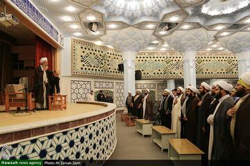 تسلیت مجمع طلاب سمنانی و شاهرودی مقیم قم به مناسبت ارتحال علامه مصباح یزدی