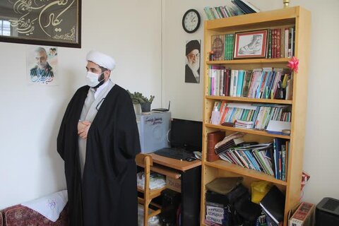 تصاویر/ بازدید مدیرکل ادیان و مذاهب سازمان تبلیغات از فعالیت روحانیان خراسان شمالی