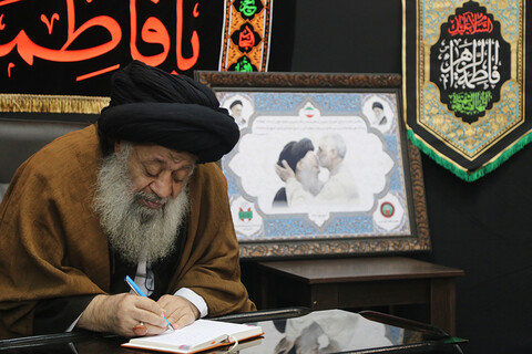 تصاویر/ مصاحبه اختصاصی حوزه نیوز با آیت الله موسوی جزایری