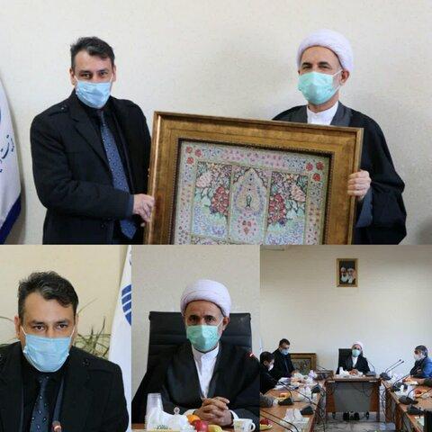 نشست دکتر امجد حمید المظفر با دیرباز