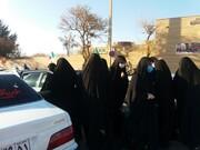 حرکت کاروان خودرویی عزاداران سردار دلها در سنندج + تصاویر