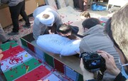 منطقه ۳ شهر قم میزبان پیکر مطهر شهید گمنام