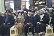 گرامیداشت شهیدان سلیمانی والمهندس با حضور نماینده مقام معظم رهبری در عراق