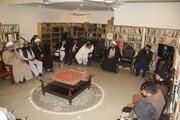 امت واحدہ پاکستان کے مرکزی سیکرٹریٹ میں تمام مکاتب فکر کے علماء کرام کا اہم اجلاس +تصاویر