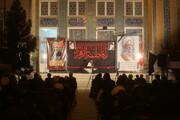 تصاویر/ مراسم سوگواری شهادت حضرت زهرا(س) در جوار شهدای گمنام مدرسه معصومیه