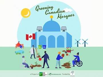 مسلمانان کانادا پروژه «مساجد سبز» را آغاز کردند