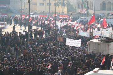 فیلم | حال و هوای میدان التحریر بغداد
