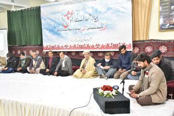 تصاویر/ مجلس وحدت مسلمین کے زیر اہتمام شہید سردار قاسم سلیمانی کی پہلی برسی کی مناسبت سے ایک عظیم الشان محفل مشاعرہ کا انعقاد
