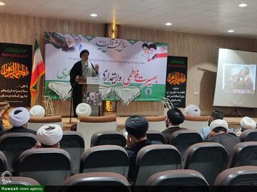 یادواره شهدای مقاومت «شهید سلیمانی و شهید ابومهدی المهندس» در شهرستان کارون برگزار شد