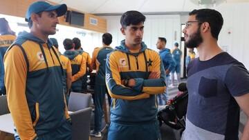 ملاقات خانوادههای قربانیان حمله تروریستی با اعضای تیم کریکت پاکستان