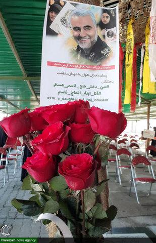 عهد و پیمان «دختران حاج قاسم» برای ادامه مسیر شهدای مقاومت