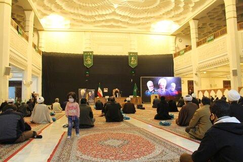 تصاویر| مراسم بزرگداشت آیت الله مصباح در شیراز