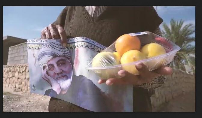 فیلم | توزیع بستههای میوه میان نیازمندان