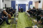 تصاویر/ دیدار مسئولان اسفراین و جاجرم با نماینده ولی فقیه در خراسان شمالی