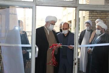 افتتاح مرکز نیکوکاری در مدرسه علمیه سفیران هدایت قزوین