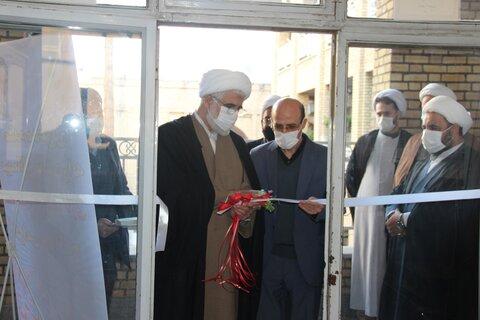 افتتاح دفتر نیکوکاری مدرسه علمیه سفیران هدایت قزوین