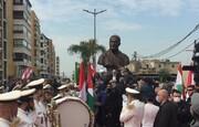 بلدية الغبيري تزيح الستار عن النصب التذكاري للشهيد سليماني+ الصور