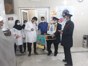 تصاویر/ حضور خادمان مسجد مقدس جمکران در بیمارستان صاحب الزمان(عج) بندرعباس