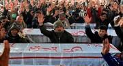 پاکستان کے ہزارہ شیعوں کے ساتھ اظہارِ ہمدردی کے لئے کرگل میں احتجاج جلوس