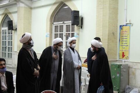 تصاویر / مراسم بزرگداشت آیت الله مصباح یزدی و شهید سلیمانی