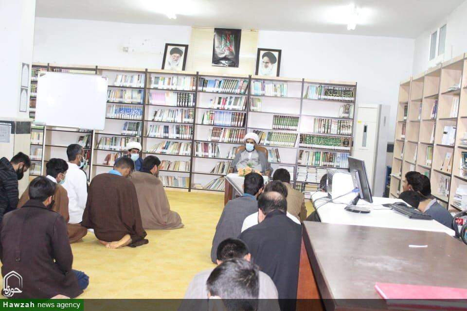 تصاویر/حضور مدیر حوزه علمیه استان هرمزگان در مدرسه علمیه امام جعفر صادق (ع) قشم