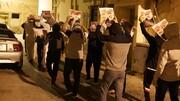تصاویر/ تظاهرات در بحرین به مناسب سالگرد شهادت شهیدان قاسم سلیمانی و ابومهدی المهندس