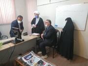 بازدید مدیر حوزه علمیه خواهران استان سمنان از خبرگزاری حوزه