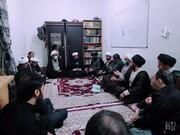 قم المقدسہ میں طلاب حوزہ علمیہ قم پاکستان کے نمائندگان کا اجلاس