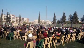 شهید سلیمانی باید در عقل و جان سوریها جاودانه شود