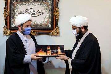 تصاویر/ بازدید مدیر حوزه علمیه خواهران استان سمنان از رسانه رسمی حوزه