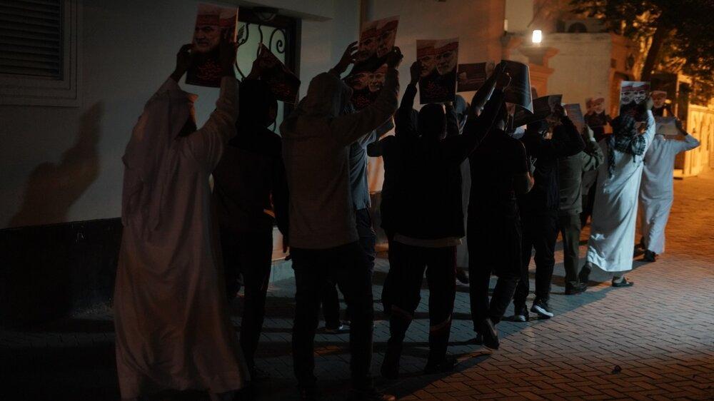 بالصور/ البحرينيون يحيون ذكرى الشهداء القادة سليماني والمهندس ورفاقهما في الذكرى الأولى لاستشهادهم