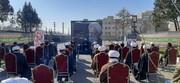 تصاویر شما/ مراسم ترحیم آیت الله مصباح یزدی در مدرسه علمیه امام جعفر صادق علیه السلام هشتگرد
