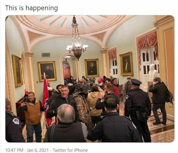 شورش در آمریکا