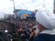 پاکستان کے شہر سکردو میں نماز جمعہ کے بعد عظیم ریلی، مچھ شہداء کے لواحقین سے اظہار یکجہتی