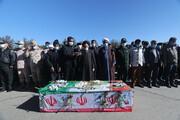تصاویر/ تشییع شهید مدافع وطن سعید بنی اسدی در بیرجند