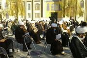 تصاویر/ مراسم بزرگداشت مرحوم آیت الله مصباح یزدی در حوزه علمیه کرمانشاه