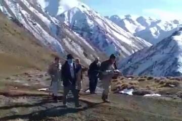 پیکر یکی از شهدای دوران دفاع مقدس در کردستان کشف شد