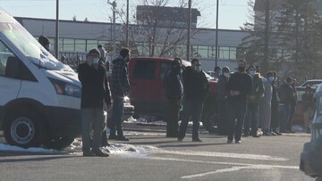 One in custody after man armed with knife interrupts prayer at Calgary