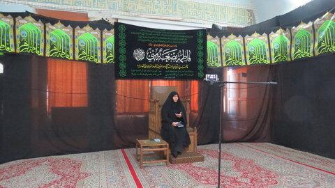 نشست مدرسه الزهرا یزد خانم یوسفی