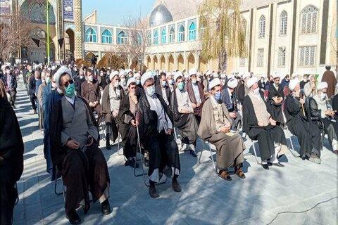 مراسم بزرگداشت ارتحال علامه مصباح یزدی در کرمانشاه