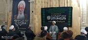 تصاویر/ مراسم بزرگداشت آیت الله مصباح یزدی در اراک